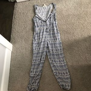 Forever 21 Button up Jumpsuit